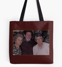 Digital watercolour. Peter,Beryl,Betty Tote Bag