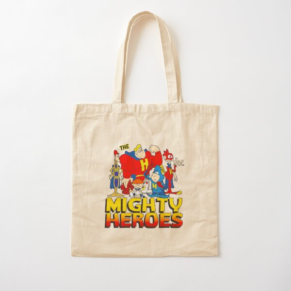 The Mighty Heroes Cotton Tote Bag