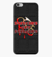Snitches Get Stitches iPhone Case