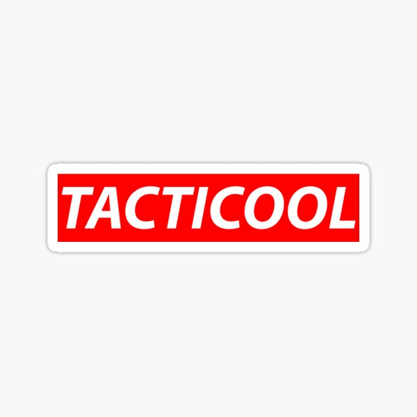 Tacticool Sticker
