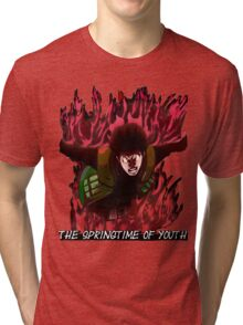 Might Guy - The Springtime of Youth! Tri-blend T-Shirt