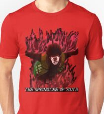 Might Guy - The Springtime of Youth! T-Shirt
