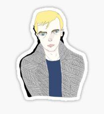Lucien Carr  Sticker