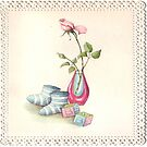 Throw Pillow for  new baby by Irene  Burdell