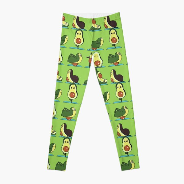 Avocado Yoga Leggings