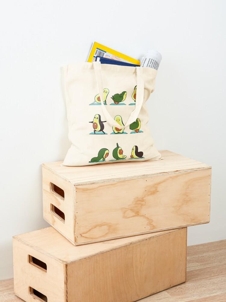 Alternate view of Avocado Yoga Tote Bag