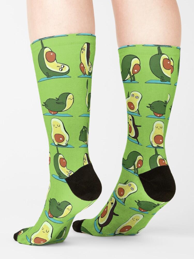 Alternate view of Avocado Yoga Socks