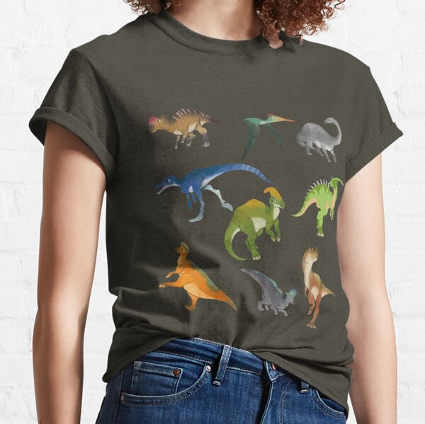 Wild Dinosaurus Classic T-Shirt
