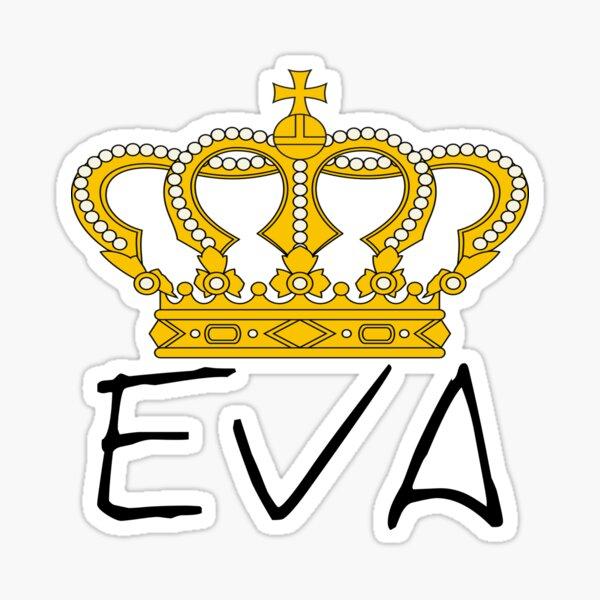 Copie de EVA QUEEN Sticker