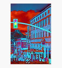 Downtown Prescott Arizona  Photographic Print