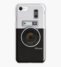 Vintage camera (vert) iPhone Case/Skin