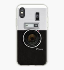 Vintage camera (vert) iPhone Case