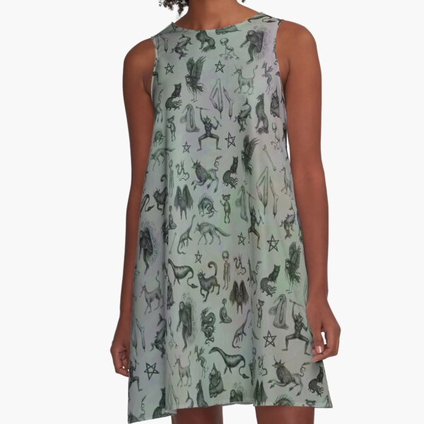 Cryptid Crew A-Line Dress
