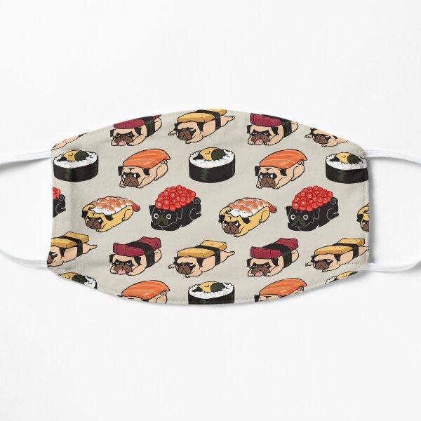Sushi Pug Flat Mask