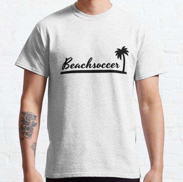 Beach soccer lettering Classic T-Shirt