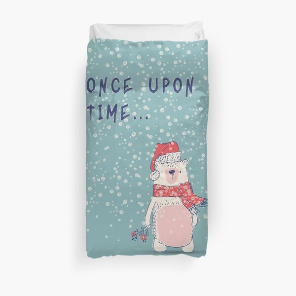 Once upon a time... Duvet Cover