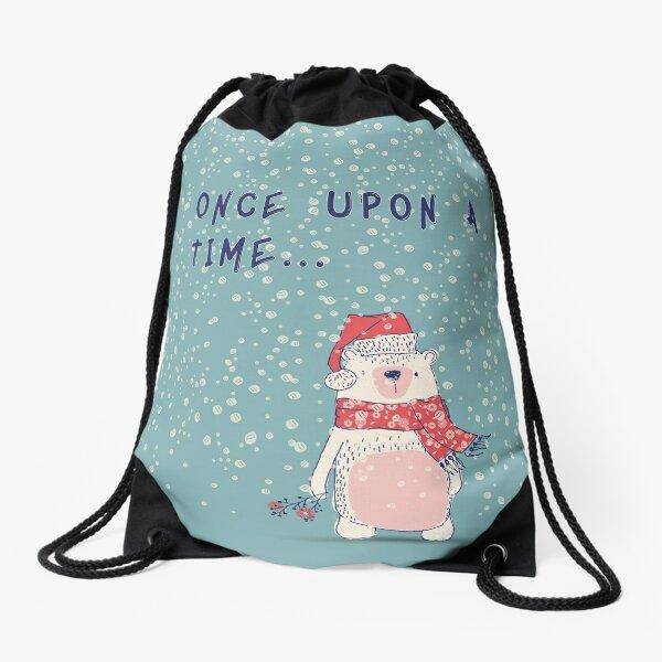 Once upon a time... Drawstring Bag