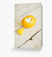 Lemon Love Greeting Card