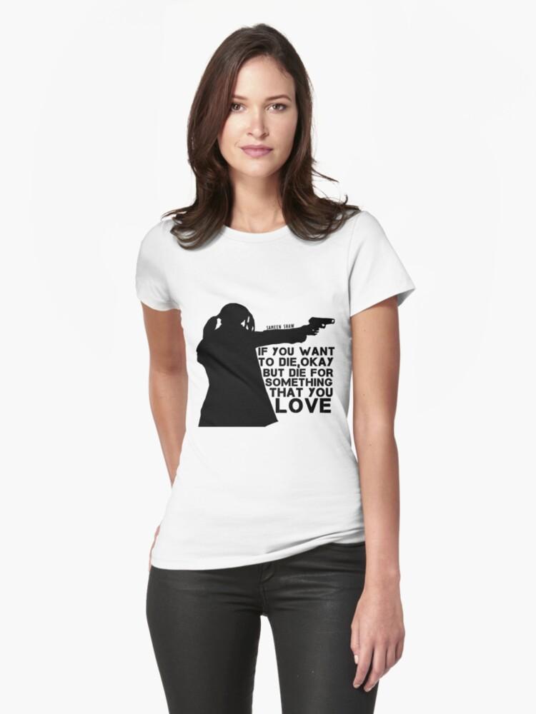 'Shaw Persona de interés - Morir por algo que amas' Camiseta by samaritan100