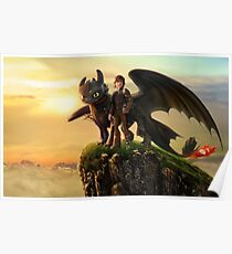How To Train Your Dragon 10 Poster