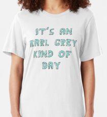 Earl Grey Day Slim Fit T-Shirt