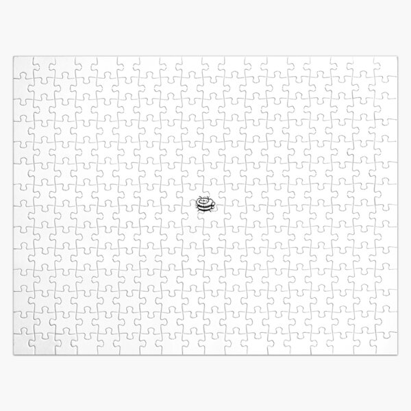 Bee (Black and White) Jigsaw Puzzle