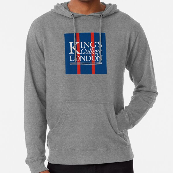 "King's College London ""KCL"" Text Lightweight Hoodie"
