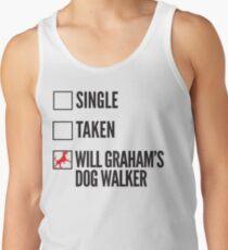 SINGLE TAKEN WILL GRAHAM'S DOG WALKER HANNIBAL Tank Top