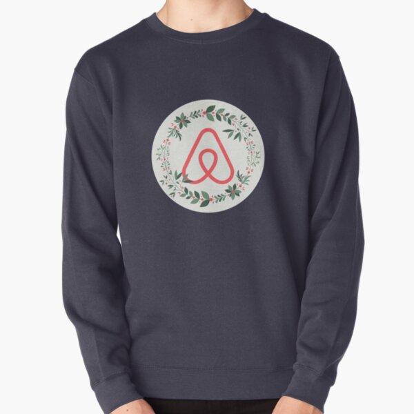 Airbnb Christmas Logo Pullover Sweatshirt