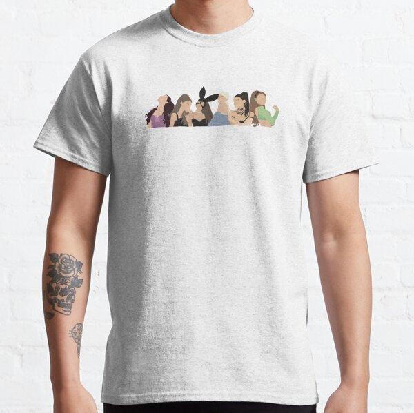 Evolución del álbum Camiseta clásica