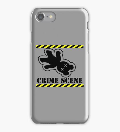 Crushed Teddy - who stepped on Teddy VRS2 iPhone Case/Skin
