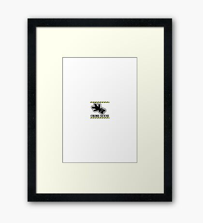 Crushed Teddy - who stepped on Teddy VRS2 Framed Print