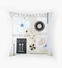 Propellor Throw Pillow