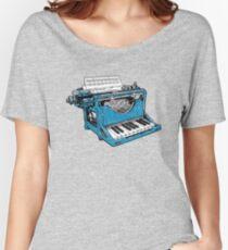 Camiseta ancha para mujer La composición - O.