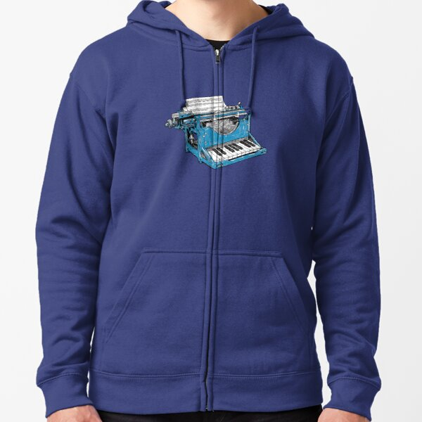 The Composition - O. Zipped Hoodie