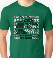 Dungeons & Dragons and Courage T-Shirt