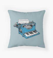 The Composition - O. Throw Pillow