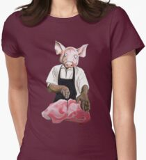 Cannibalpigsm Women's Fitted T-Shirt