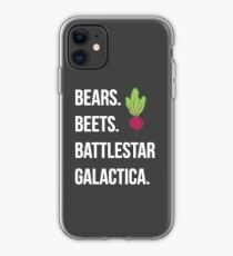 Bears. Beets. Battlestar Galactica. - The Office iPhone Case
