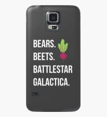 Bears. Beets. Battlestar Galactica. - The Office Case/Skin for Samsung Galaxy