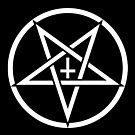Pentagram with Upside Down Cross by Jessica Bone