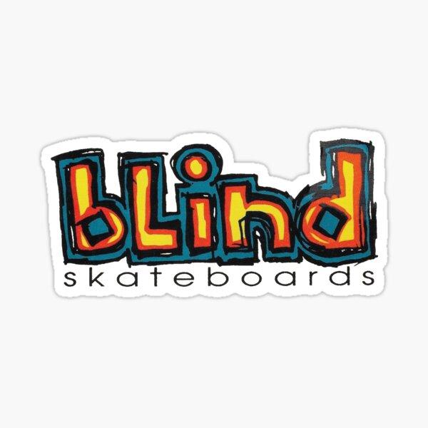 Blind, skateboard t shirt design. Sticker