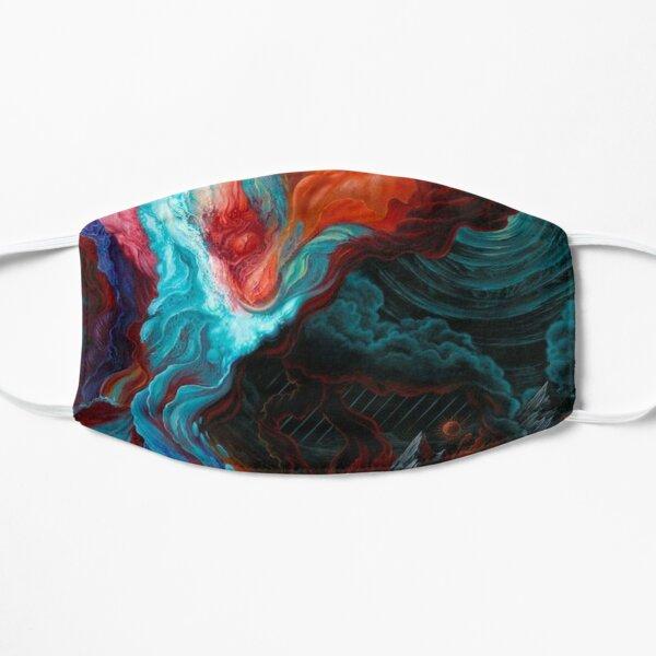 Acrylic Fluid Abstract  Mask