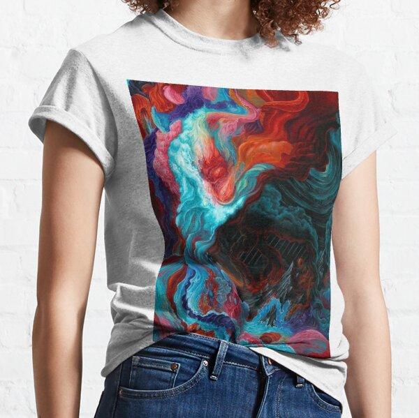 Acrylic Fluid Abstract  Classic T-Shirt