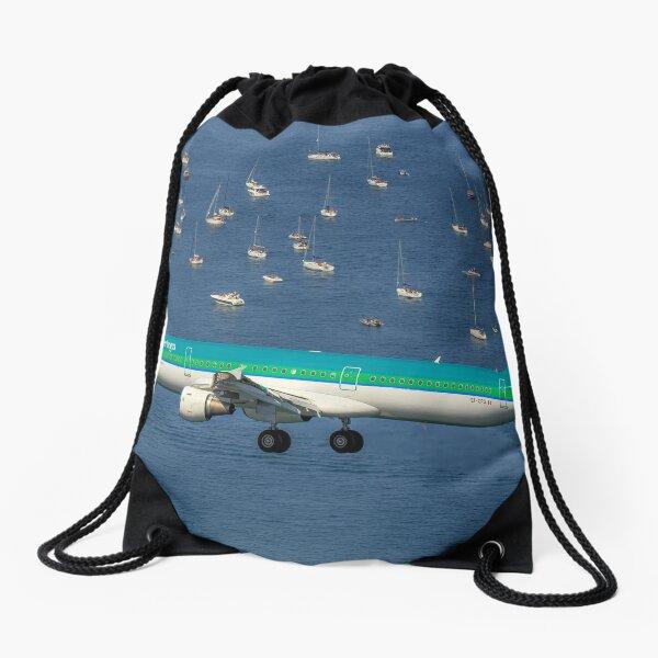 Airbus A321 Drawstring Bag