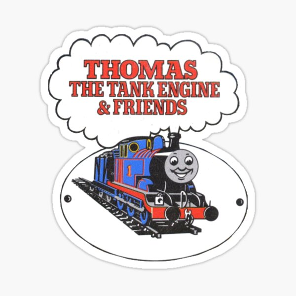 Classic Thomas the Tank Engine and Friends Logo Sticker
