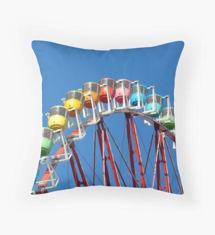 Tokyo wheel Throw Pillow