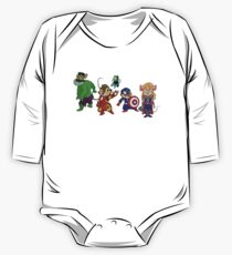 Rescuers Assemble!  One Piece - Long Sleeve