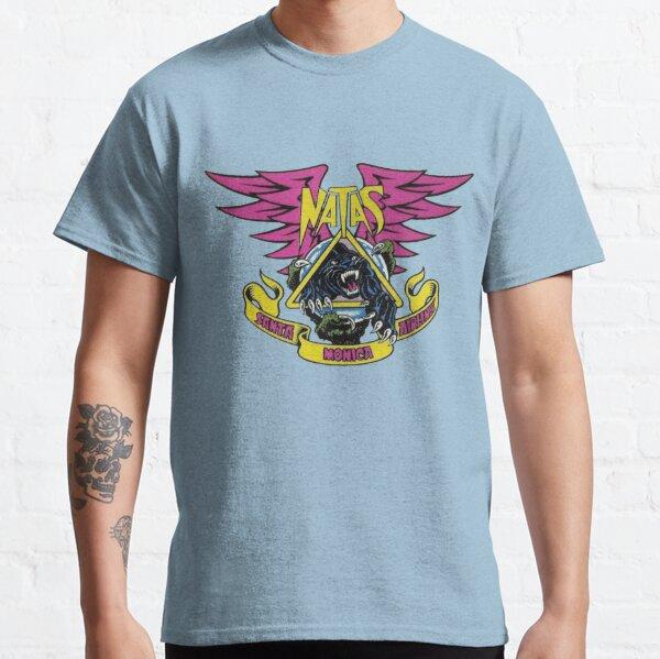Natas garra y pantera, diseño de camiseta de skate. Camiseta clásica