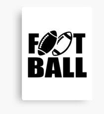 Football sports Canvas Print